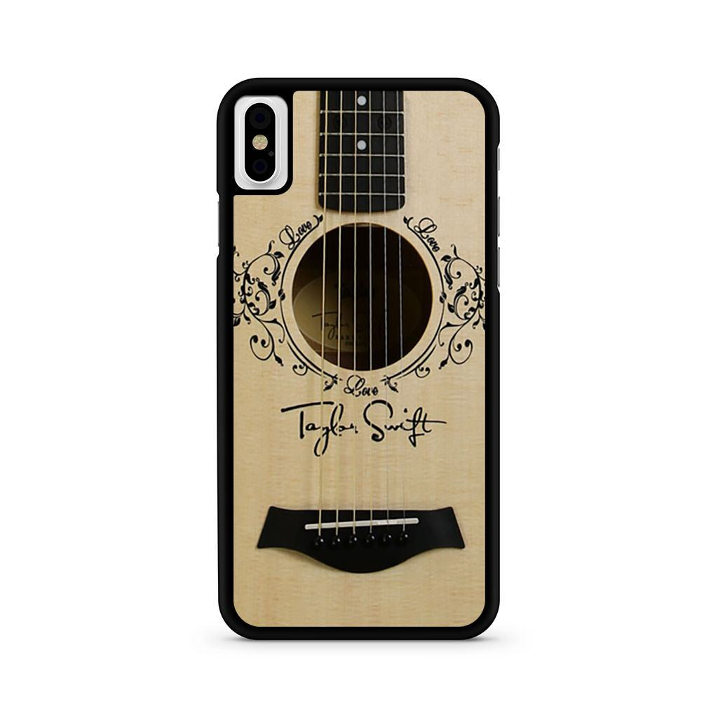 Taylor Swift Guitar iPhone X case