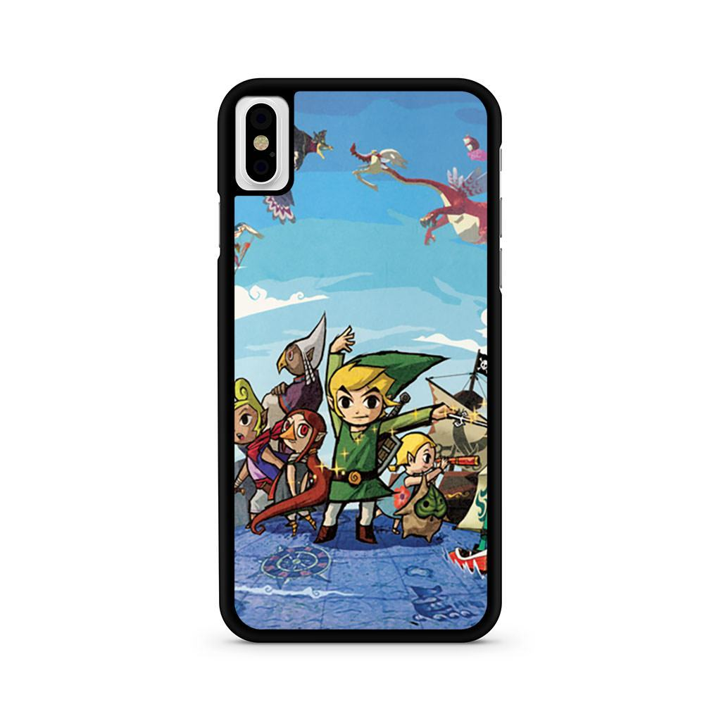 The Legend Of Zelda Wind Waker iPhone X case