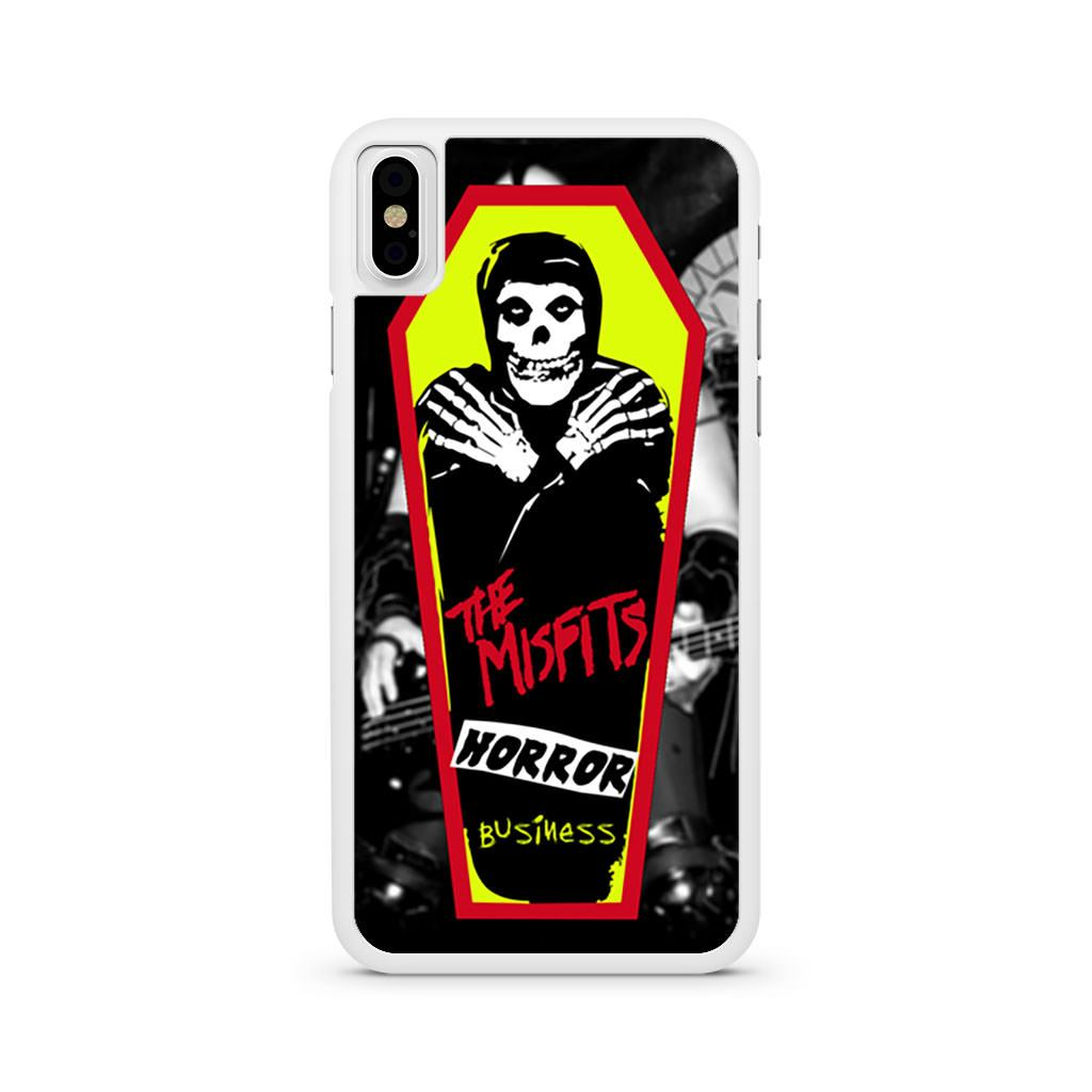 The Misfits Horror Business iPhone X case