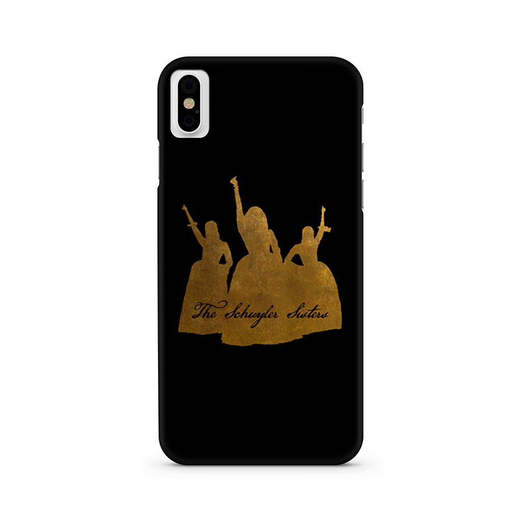 The Schuyler Sisters Hamilton iPhone X case