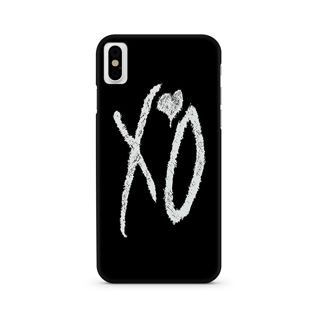 The Weeknds Xo iPhone X case