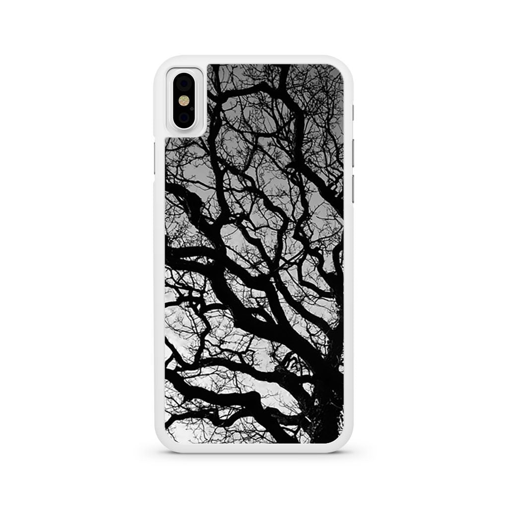 Tree Silhouette iPhone X case