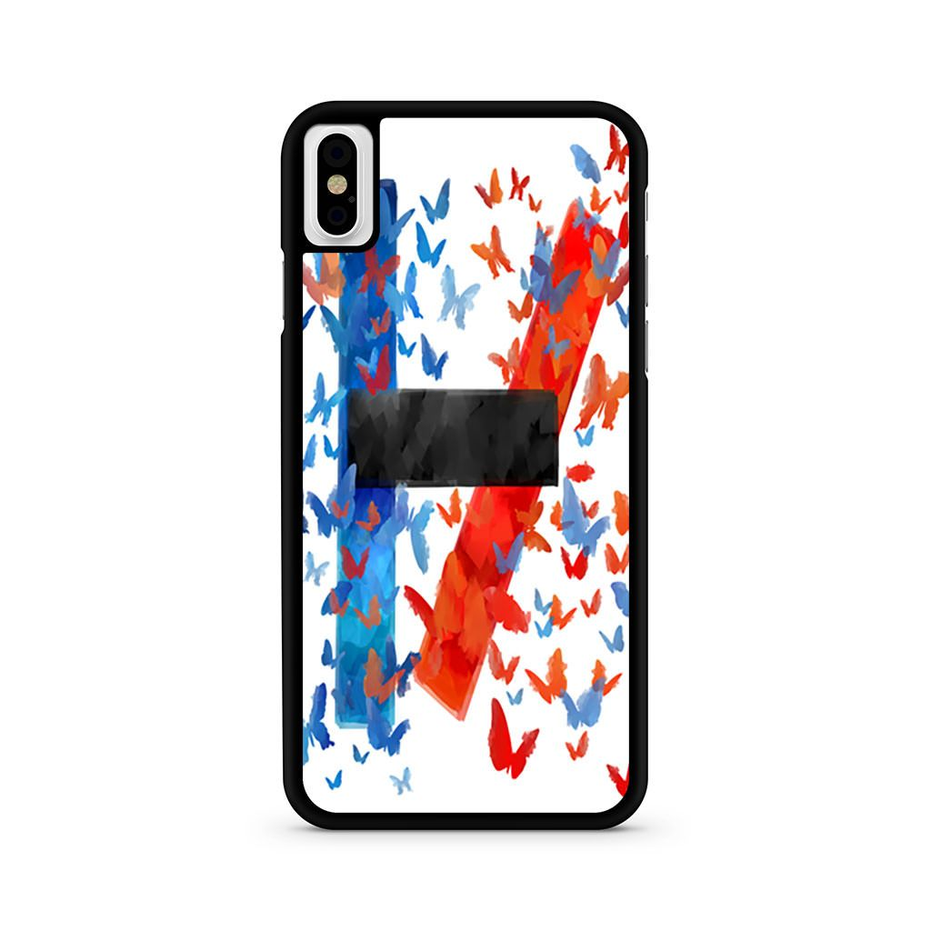 Twenty One Pilots Logo Butterfly iPhone X case