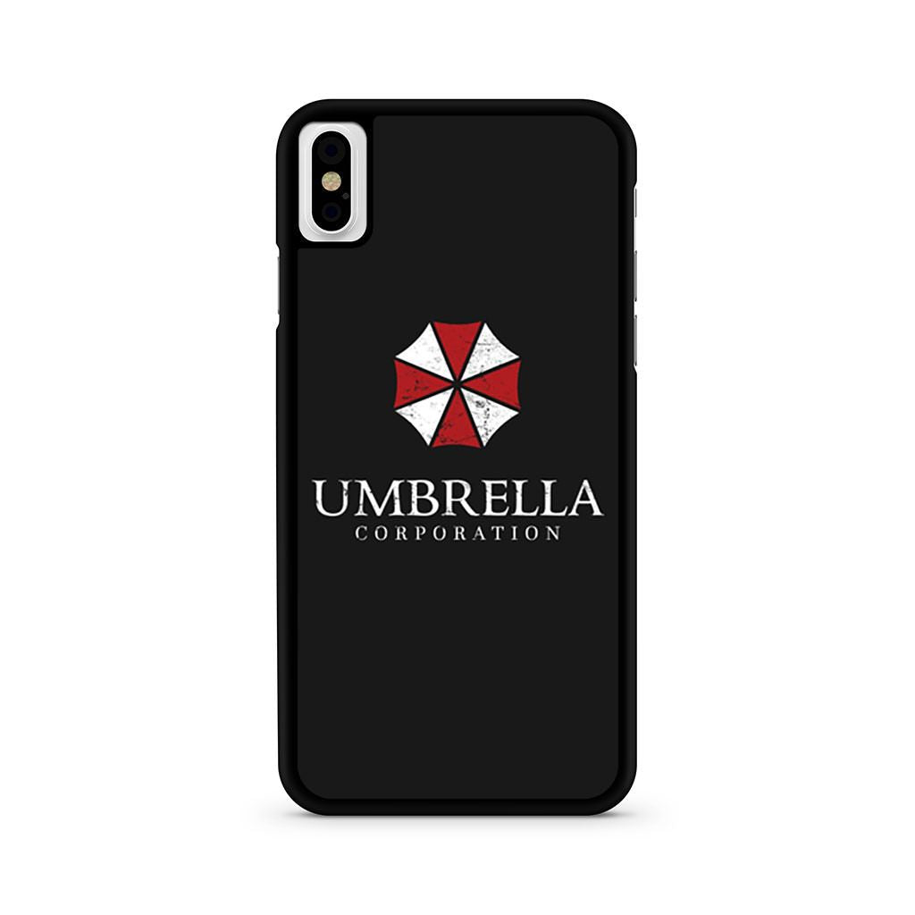 white umbrella corporation iphone case