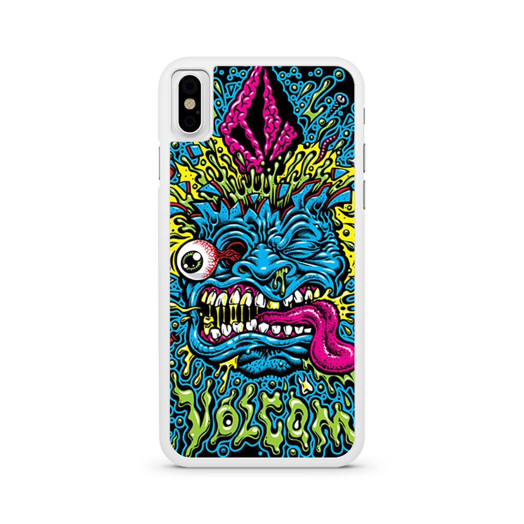 Volcom Face Jimbo Phillips iPhone X case