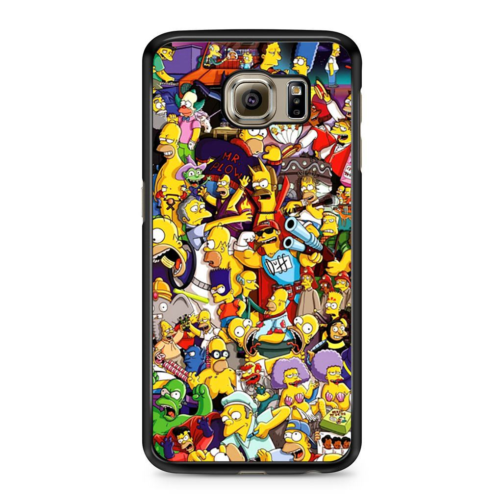 cover samsung s6 simpson