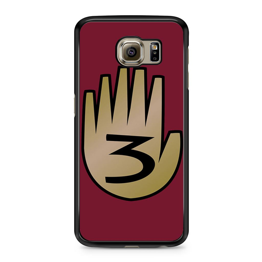 3 Gravity Falls Book 3 Mystery Twins Samsung Galaxy S6 case