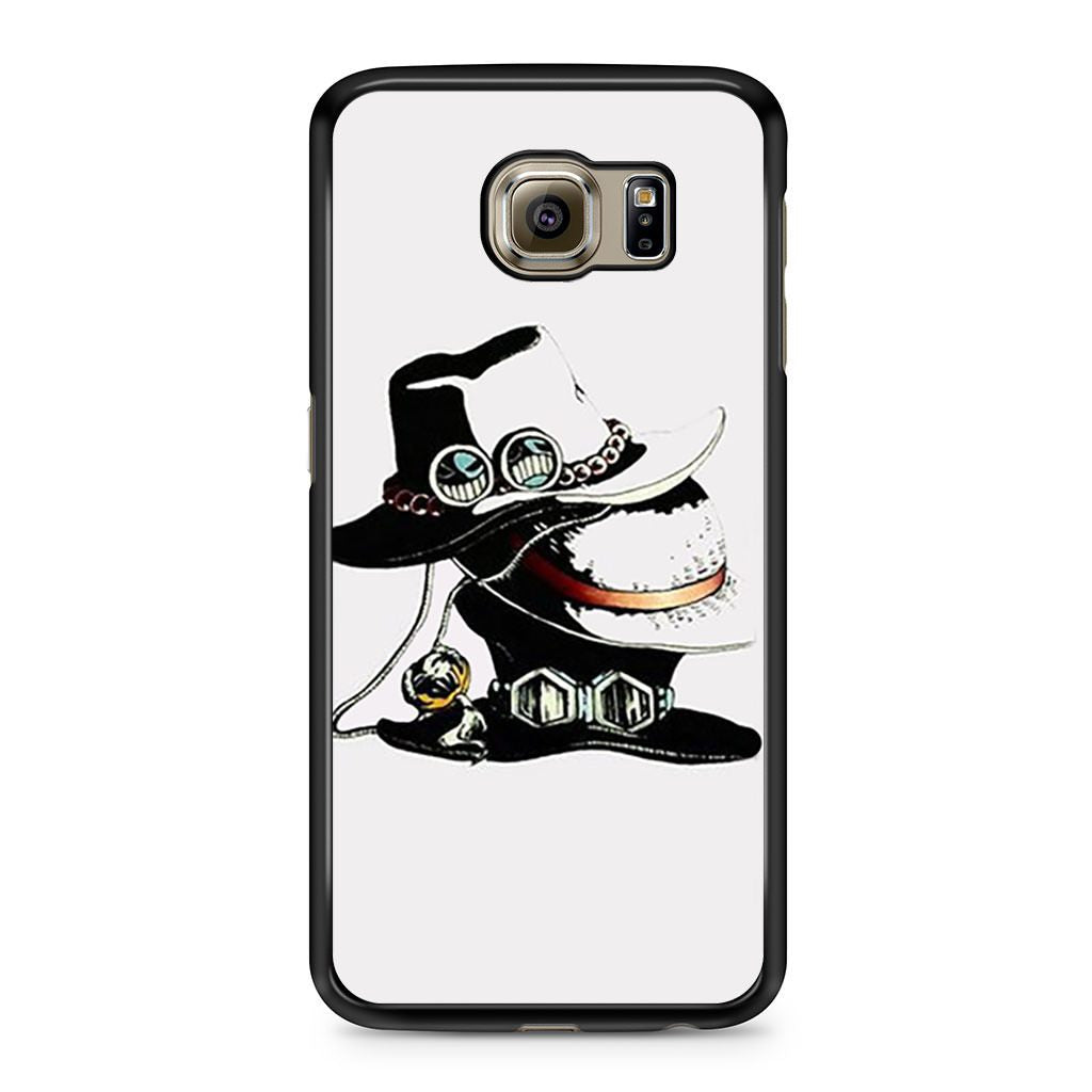 3 Hat Of Ace Sabo Luffy One Piece Samsung Galaxy S6 case