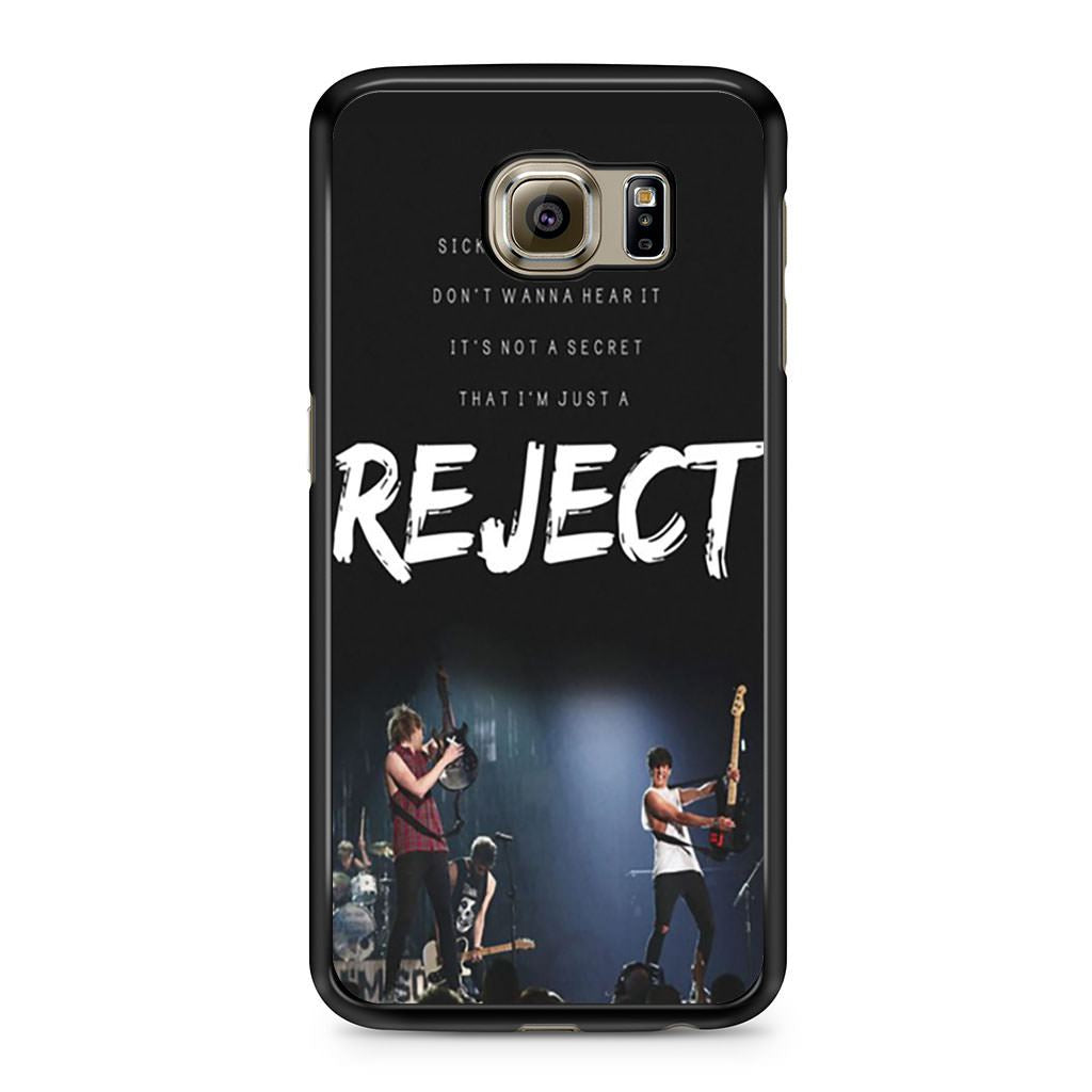 5SOS Reject Lyric Samsung Galaxy S6 case
