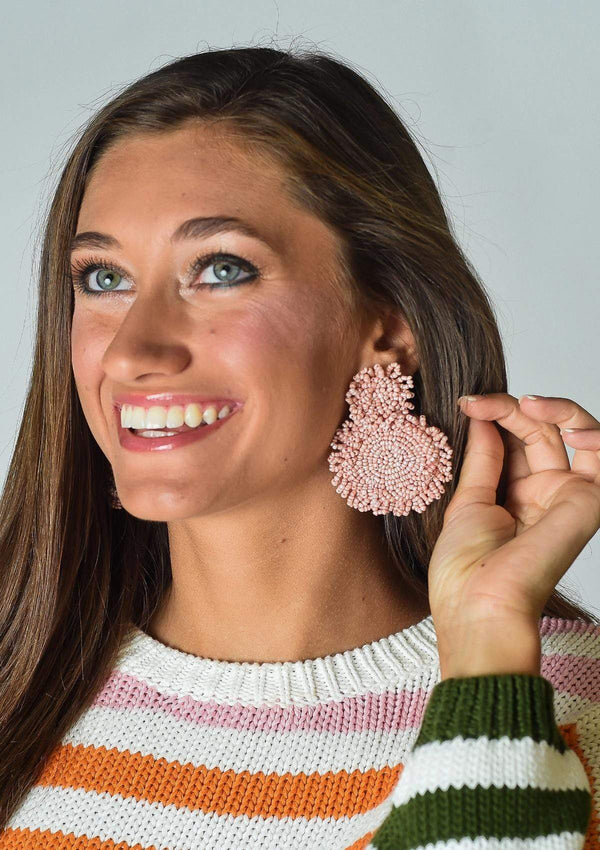 ACCESSORIES BLUSH Charmed Life Earrings in Blush