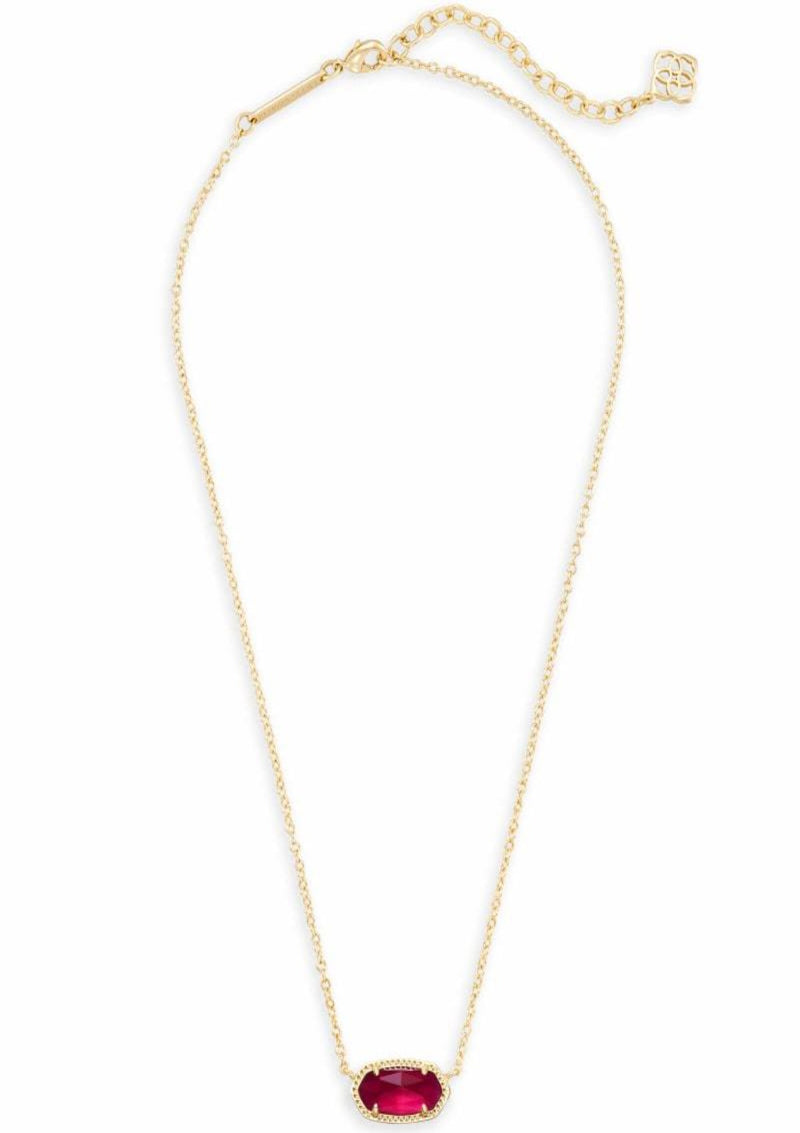 ACCESSORIES GOLDBERRYILLUSION Kendra Scott Elisa Berry Illusion Pendant Necklace