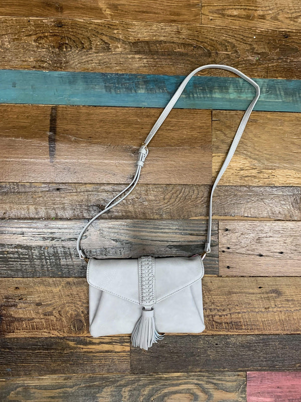 ACCESSORIES GREY Crossbody Bag In Grey
