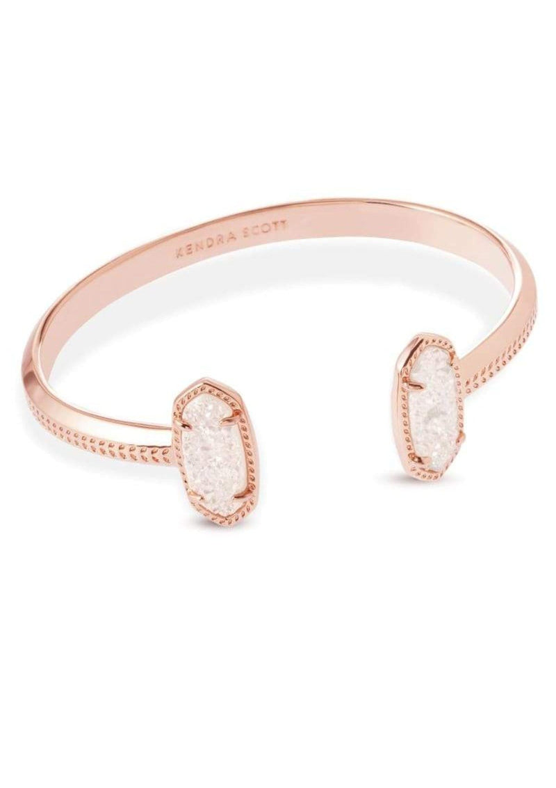 ACCESSORIES Kendra Scott Elton Bracelet Rose Gold Iridescent Drusy