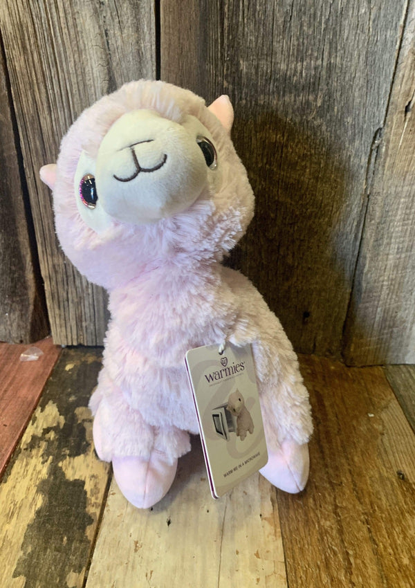 ACCESSORIES Large Pink Lama Animal Warmie