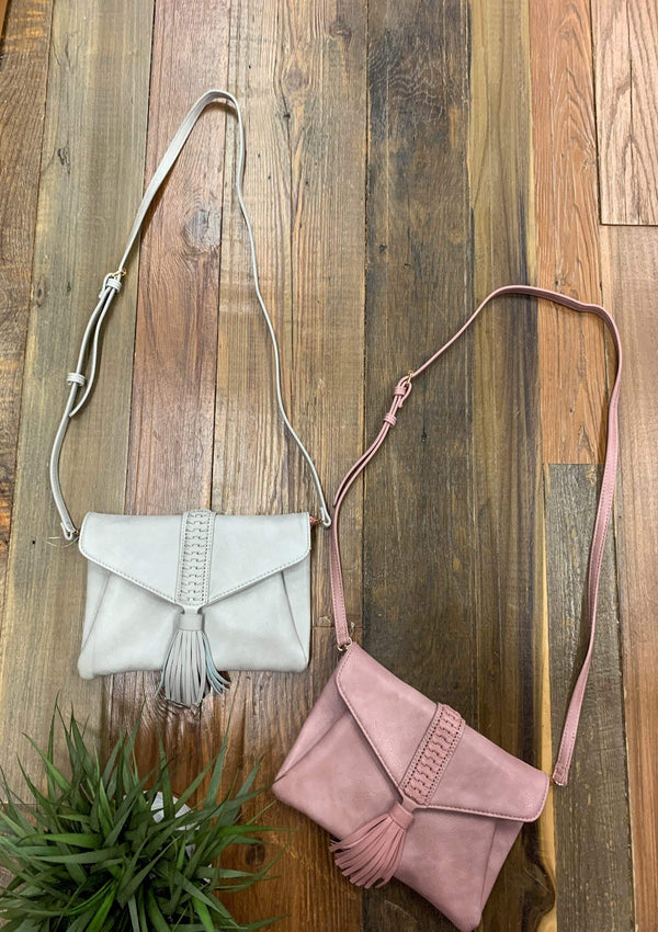 Crossbody Bag In Mauve