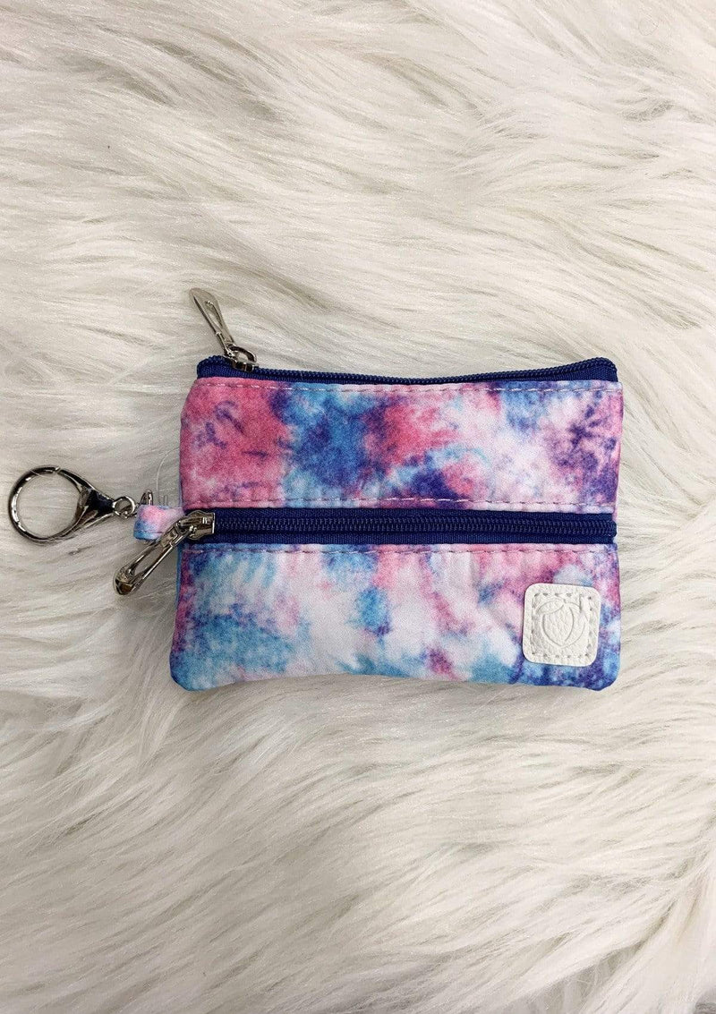 ACCESSORIES PURPLETIEDYE Purple Tie Dye Mask Bag