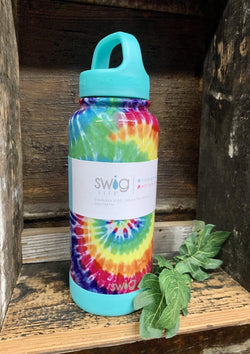 ACCESSORIES TIEDYE Swirled Peace Insulated Bottle