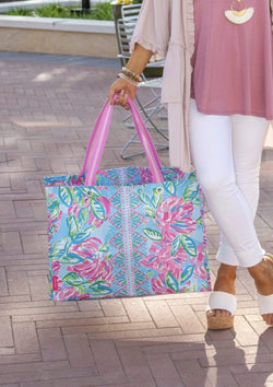ACCESSORIES TOTALLYBLOSSOM Totally Blossom Market Shopper