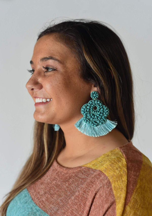 ACCESSORIES TURQUOISE Something in the Water Earrings