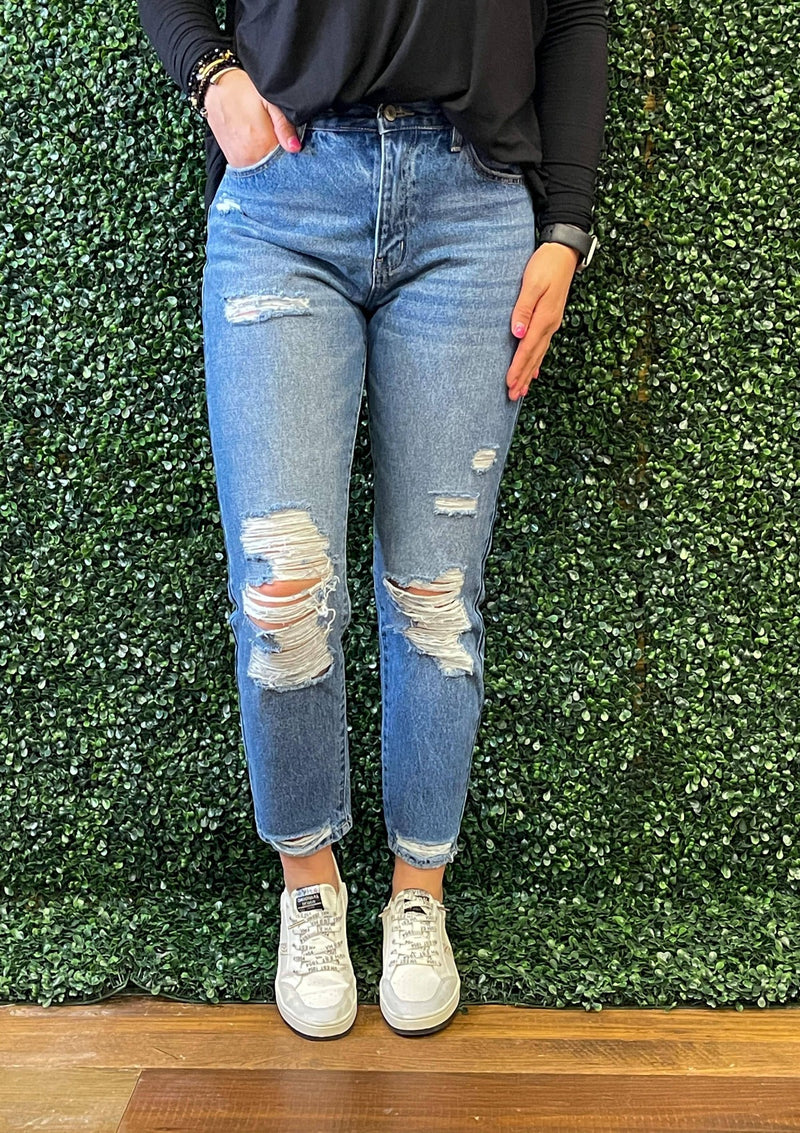 BOTTOMS 1 / MEDIUM Pure Sweetness Kan Can Jeans