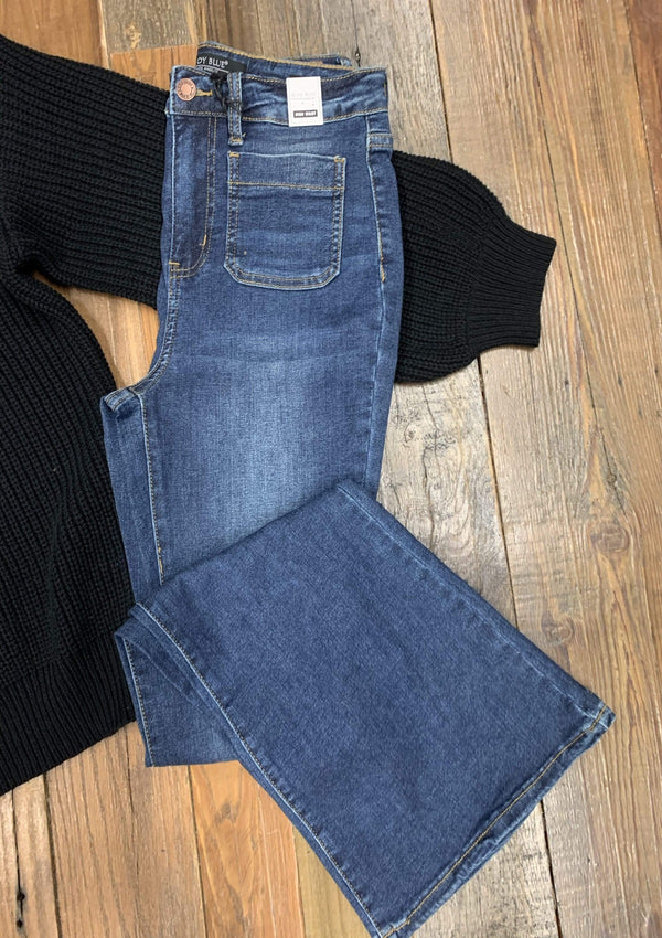 BOTTOMS 5 / DARK Match Made Jeans