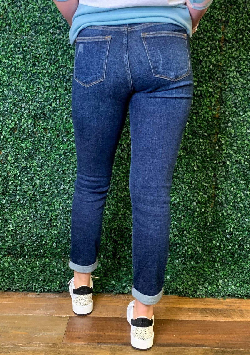 BOTTOMS Basic Babe Judy Blue Jeans