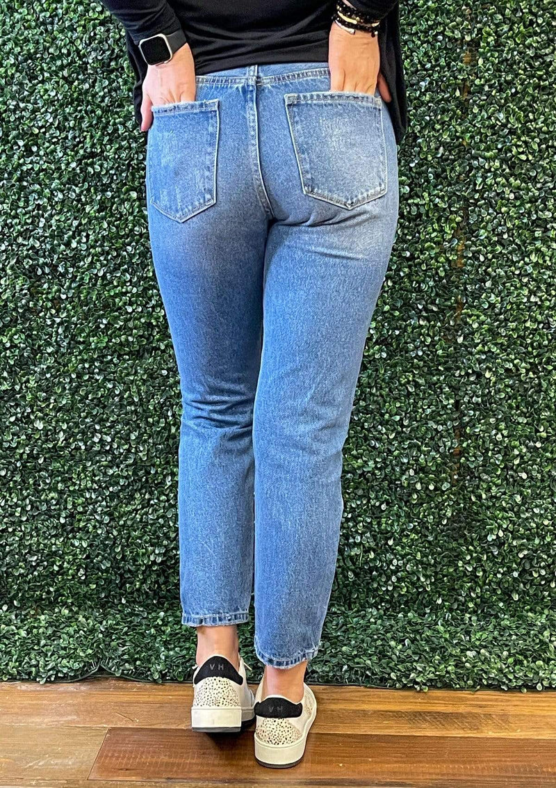 BOTTOMS Pure Sweetness Kan Can Jeans