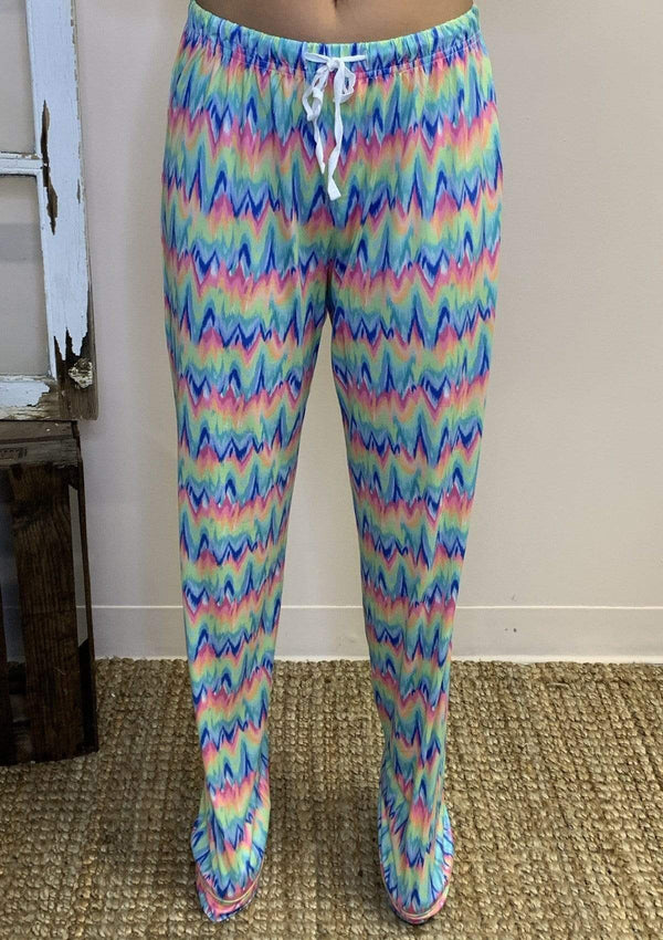 BOTTOMS S/M / TIEDYE Tie Dye Lounge Pants