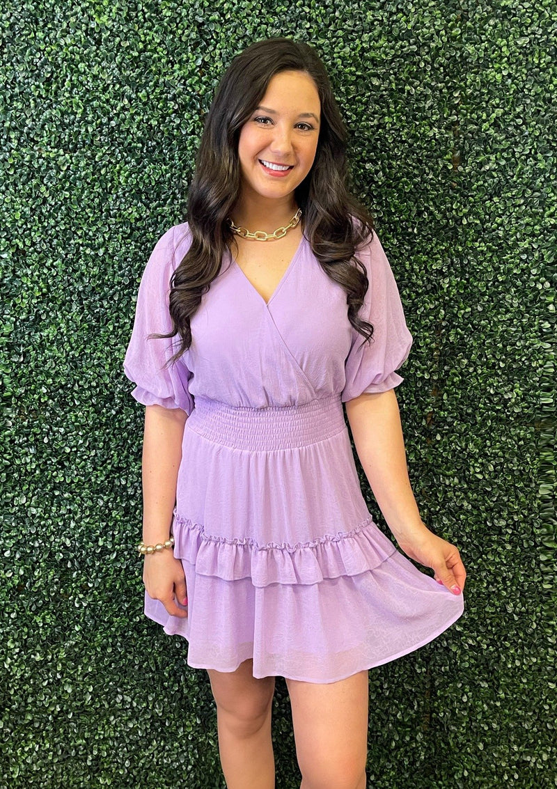 DRESSES Luscious Lavender Dress