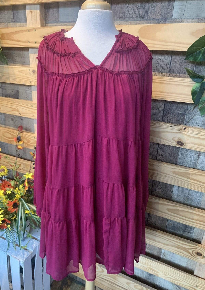 DRESSES S / BERRY Beautifully Berry Dress
