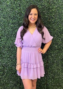DRESSES S / LAVENDER Luscious Lavender Dress
