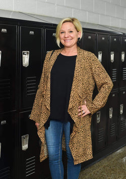 JACKETS S / LEOPARD I Have Arrived Leopard Jacket