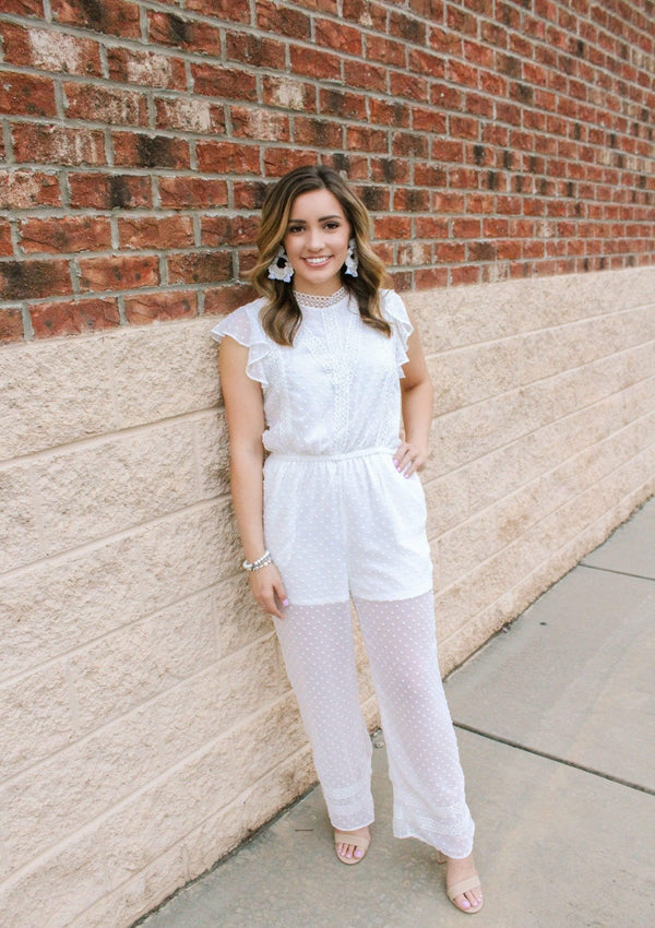 JUMPSUITS Save The Date Jumpsuit