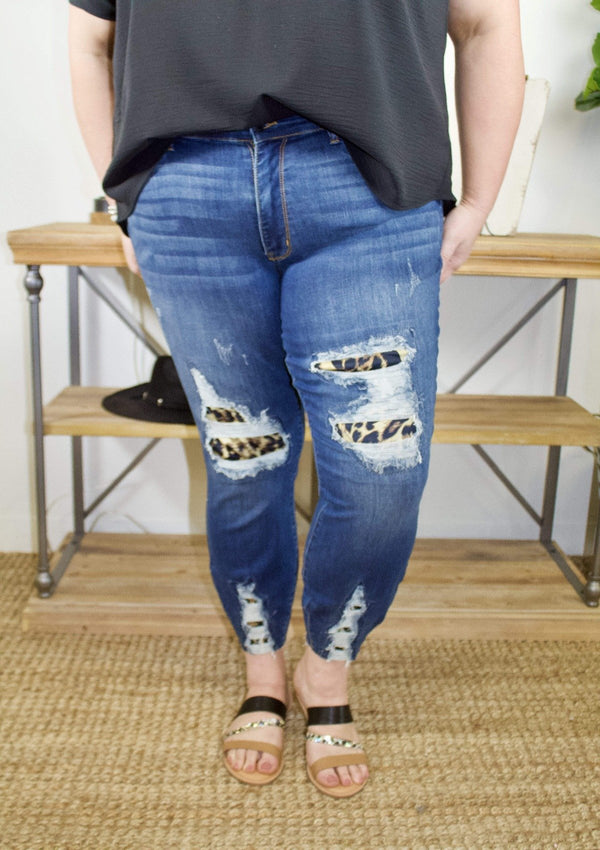 PLUS BOTTOMS Craze Me Judy Blue Jeans In Plus