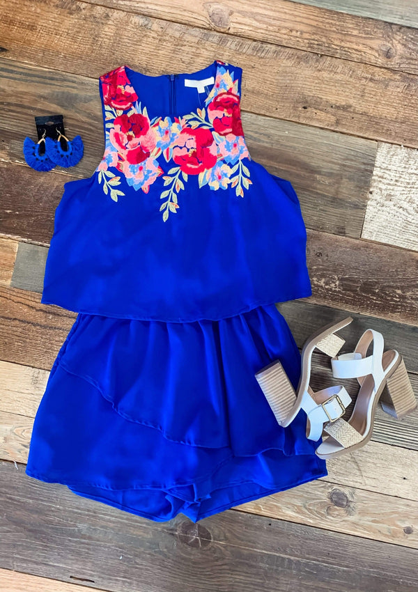 Into The Blue Romper