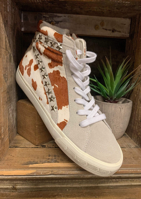 SHOES 5.5 / COWMIX Wild At Heart Sneakers