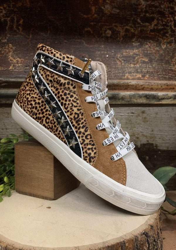 SHOES 5.5 / LEOPARD Lavish Leopard Sneakers
