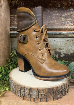 SHOES 5.5 / TANCOMBO Classy Combat Boots