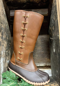 SHOES 5 / BROWNCOMBO Cold And Chill Duck Boots