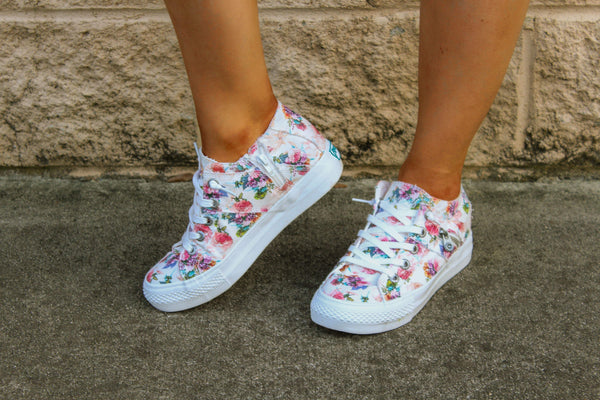 SHOES 6 / OFFWHITE Floral Melondrop Sneakers