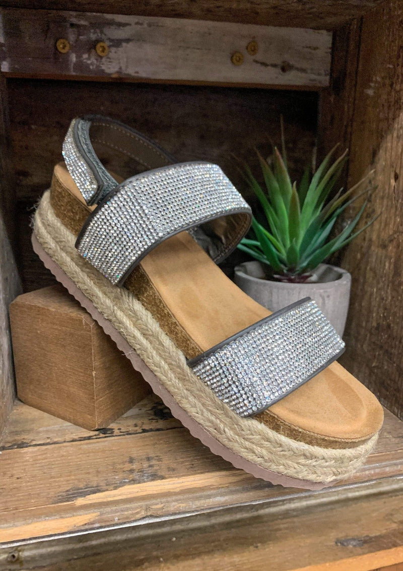 SHOES 6 / SILVER Summer Breeze Sandals