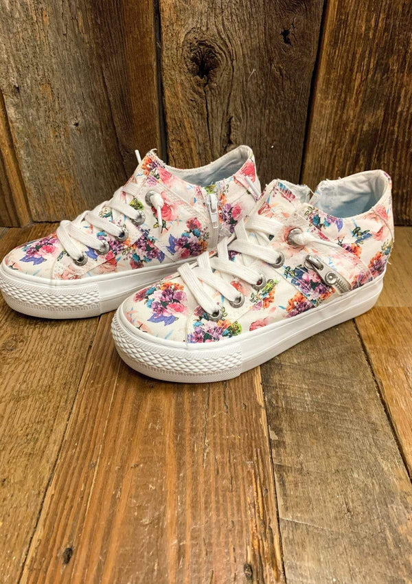 SHOES Floral Melondrop Sneakers