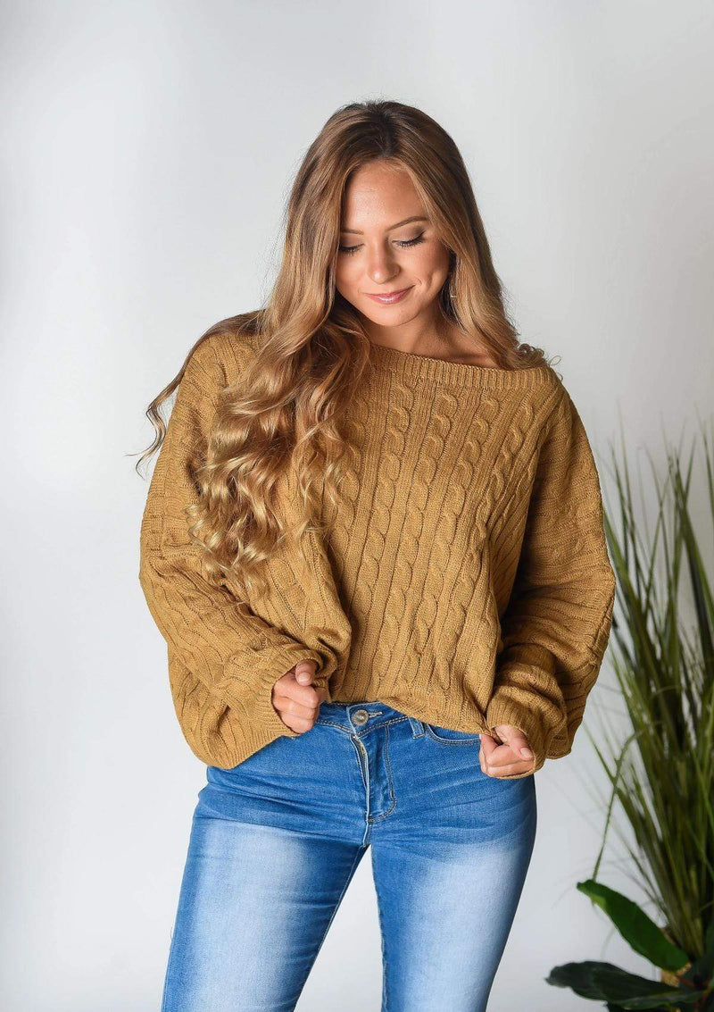 SWEATERS My Type Cropped Sweater