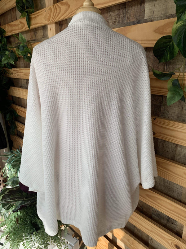 TOPS All Time Favorite Cardigan In Ivory