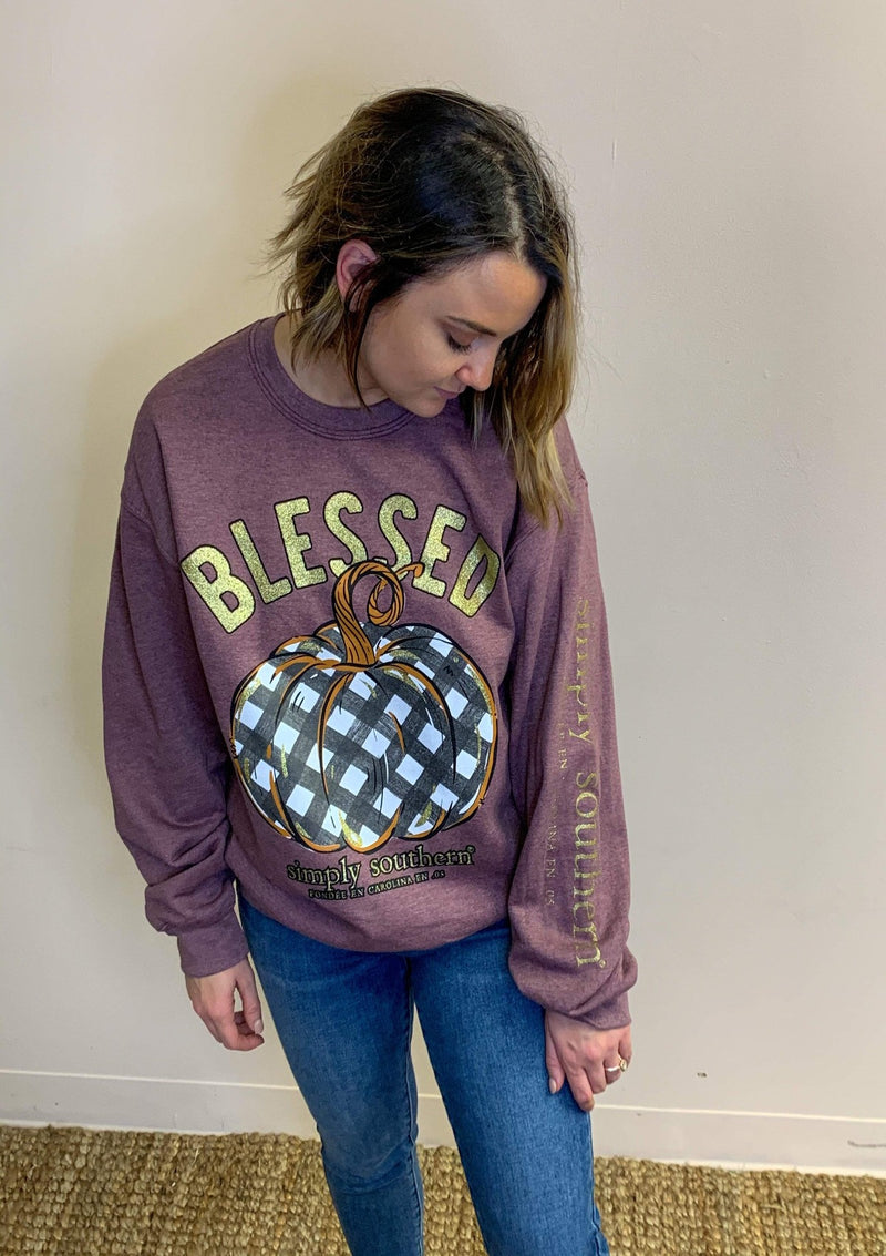 TOPS Blessed Fall Pullover