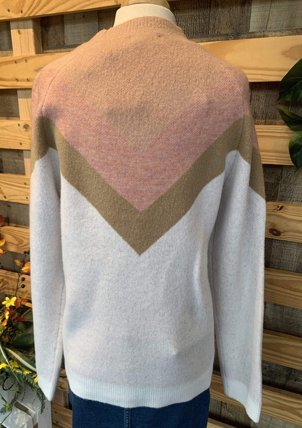 TOPS Chevron Sweater