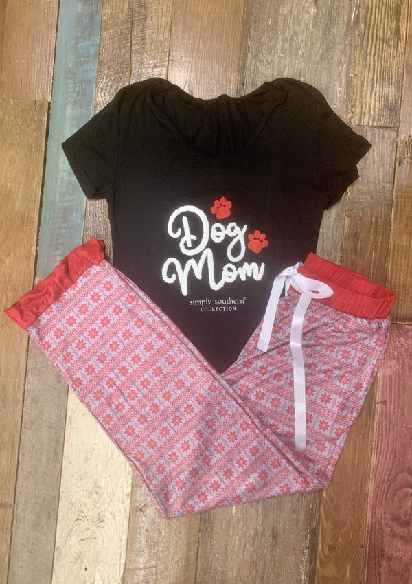 TOPS Dog Mom Lounge Set