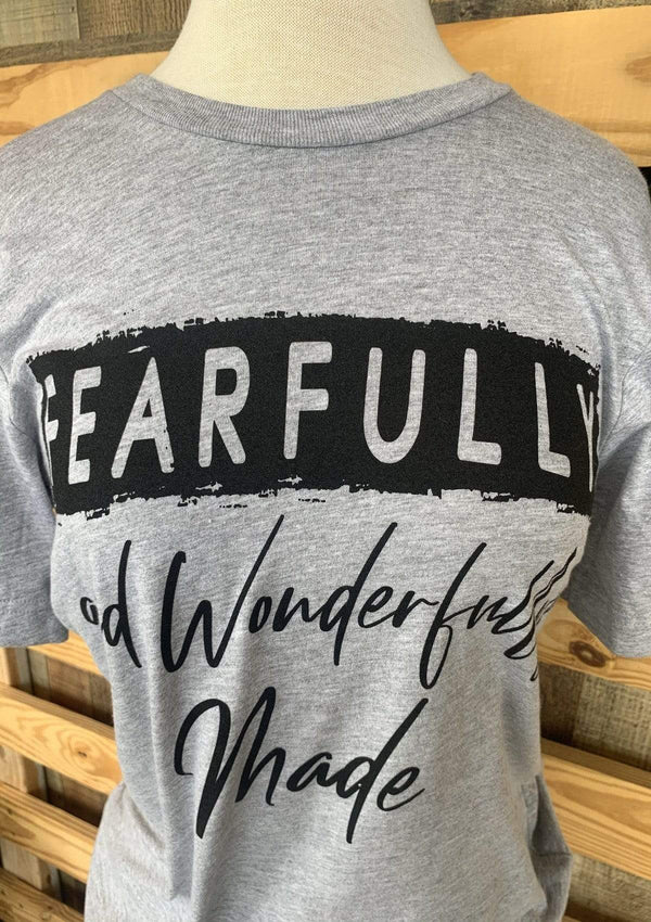 TOPS Fearfully And Wonderfully Made Tee