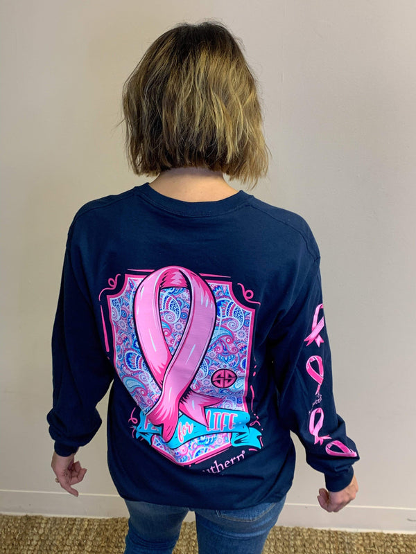 TOPS Fight For Life Breast Cancer Long Sleeve