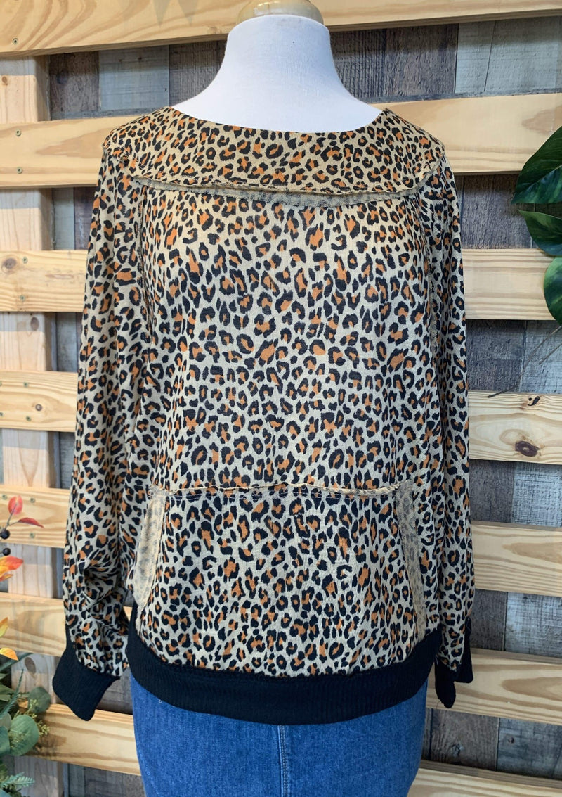 TOPS S / CAMEL Go With Me Into The Wild Top
